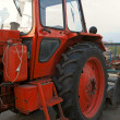 Wheeled tractor — Stock Photo