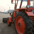 Stock Photo: Wheeled tractor