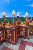 Фонарь буддийский храм — Стоковое фото