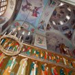 Interior of the Assumption Cathedral in Valday monastery , Russi - Stock Photo