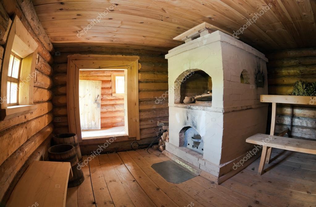 Печка в русскую баню