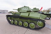 Old soviet light tank T-70 — Zdjęcie stockowe
