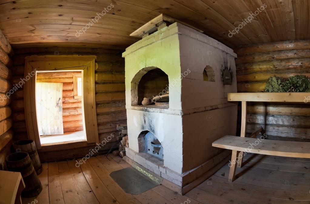 Деревенская русская баня видео