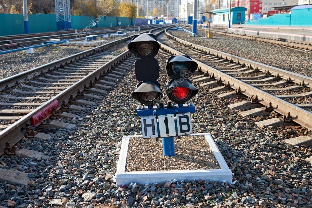 Светофор железная дорога своими руками