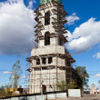 Tower monastery under construction over blue sky background in S — Stock Photo #14056207