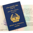 Republic of Afghanistan Passport — Stock Photo