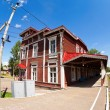 Stock Photo: Old Provincial Railway Station in Russia