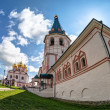 Russian orthodox church. Iversky monastery in Valday, Russia — Foto Stock