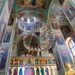 Interior of Assumption Cathedral in Valday monastery, Russia — Stock Photo #15946603