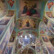 Interior of Assumption Cathedral in Valday monastery, Russia — Stock Photo #15946667