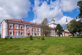 Russian orthodox church. Iversky monastery in Valday, Russia — Stock Photo