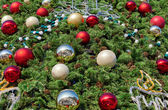 Decorations of Christmas tree — Stock Photo