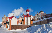 Iversky monastery in Samara, Russia — Stock Photo