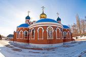 Church of the Resurrection in Samara, Russia — Stock Photo
