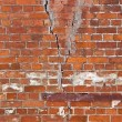 Old weathered grunge red brick wall as background — Stock Photo #23414006