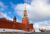 Tour spasskaïa du kremlin de moscou — Photo