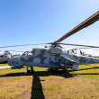 Military helicopter Mi-24 — Stock Photo