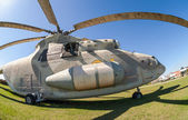 Military helicopter Mi-26 — Stock Photo