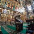 Interior of russian orthodox church in Valday, Russia — Photo