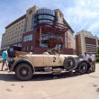 Постер, плакат: SAMARA RUSSIA JUNE 16:Rally of retro cars Peking Paris 2013