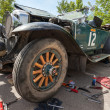 Постер, плакат: SAMARA RUSSIA JUNE 16: Rally of retro cars Peking Paris 201