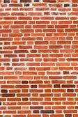 Oude verweerde grunge rode bakstenen muur als achtergrond — Stockfoto
