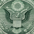 Great Seal of the United States on the reverse of a US Dollar Bi — Stock Photo
