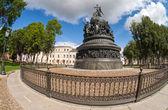 Pomnik 1000-lecia Rosji — Zdjęcie stockowe