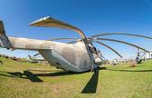 Togliatti, rusia - 2 de mayo: transporte militar pesado helicóptero m — Foto de Stock