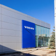 图库照片: SAMARA, RUSSI- OCTOBER 20: Building of official dealer Volvo,