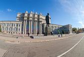 Samara, rusia - el 20 de octubre: teatro de ópera y ballet académico un — Foto de Stock