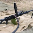 Stock Photo: General purpose machine gun Pecheneg