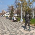 SAMARA, RUSSIA - MAY 1: Monument to Comrade Sukhov, the main cha — Stock Photo