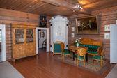 The interior of the museum Suvorov in Konchanskoe-Suvorovskoe — Stock Photo