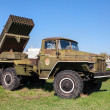 TOGLIATTI, RUSSIA - MAY 2, 2013: BM-21 Grad 122-mm Multiple Rock — Stock Photo