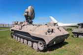 Mobile H-band artillery locating radar — Stock Photo