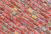 Abstract mosaic background in red tone — Stock Photo
