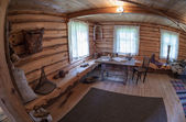 KONCHANSKOE-SUVOROVSKOE, RUSSIA - JULY 17, 2013: The interior of — Stok fotoğraf