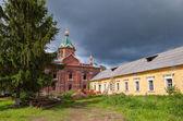 Holy Spirit Monastery in Borovichi, Novgorod region, Russia — Zdjęcie stockowe