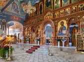Samara, federacja rosyjska - 20 kwietnia 2014: wnętrze kościoła resurrec — Zdjęcie stockowe