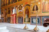 SAMARA, RUSSIA - APRIL 20, 2014: Interior Church of the Resurrec — Stockfoto