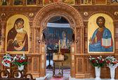 SAMARA, RUSSIA - APRIL 20, 2014: Interior Church of the Resurrec — Foto de Stock