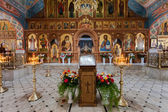 SAMARA, RUSSIA - APRIL 20, 2014: Interior Church of the Resurrec — Stock Photo