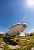 Samara, russland - 25. mai 2014: alte russische flugzeuge tu-104 bei einer — Stockfoto