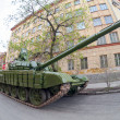 Постер, плакат: SAMARA RUSSIA MAY 6 2014: Main battle tank T 72 Ural exhib