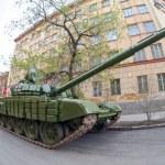 ������, ������: SAMARA RUSSIA MAY 6 2014: Main battle tank T 72 Ural exhib