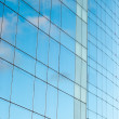 Office building and sky reflection — Stock Photo #20026385
