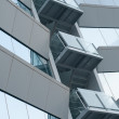Office building with balcony - Stock Photo