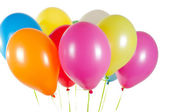 Multicolored air balloons — Zdjęcie stockowe