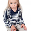 Little cute girl in studio — Stock Photo #24200147
